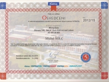 Certifikát Fatrafol
