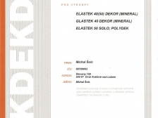 Certifikát - hydroizolační krytina Dektrade
